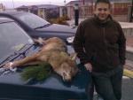 Vikerl mit seinem Wolf
