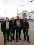 4 Freunde in Russland